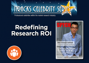 Market Research Return on Investment ROI - Benjamin Smithee Webinar Celebrity Series