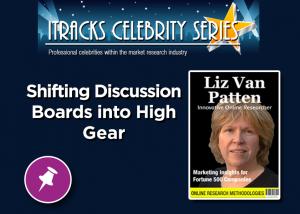 Shifting Discussion Boards Into High Gear - Liz Van Patten Webinar Celebrity Series