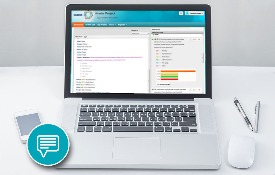 itracks Chat Demonstration Webinar
