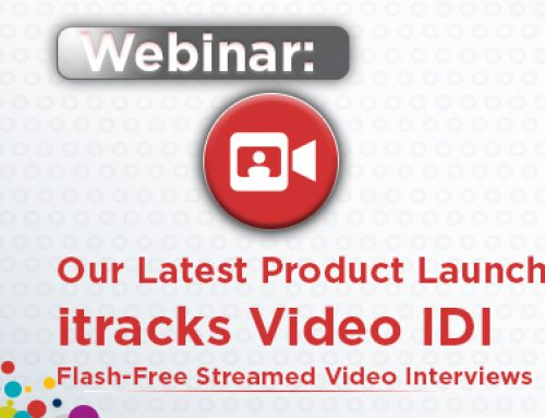 Webinar: itracks Video IDI Product Launch